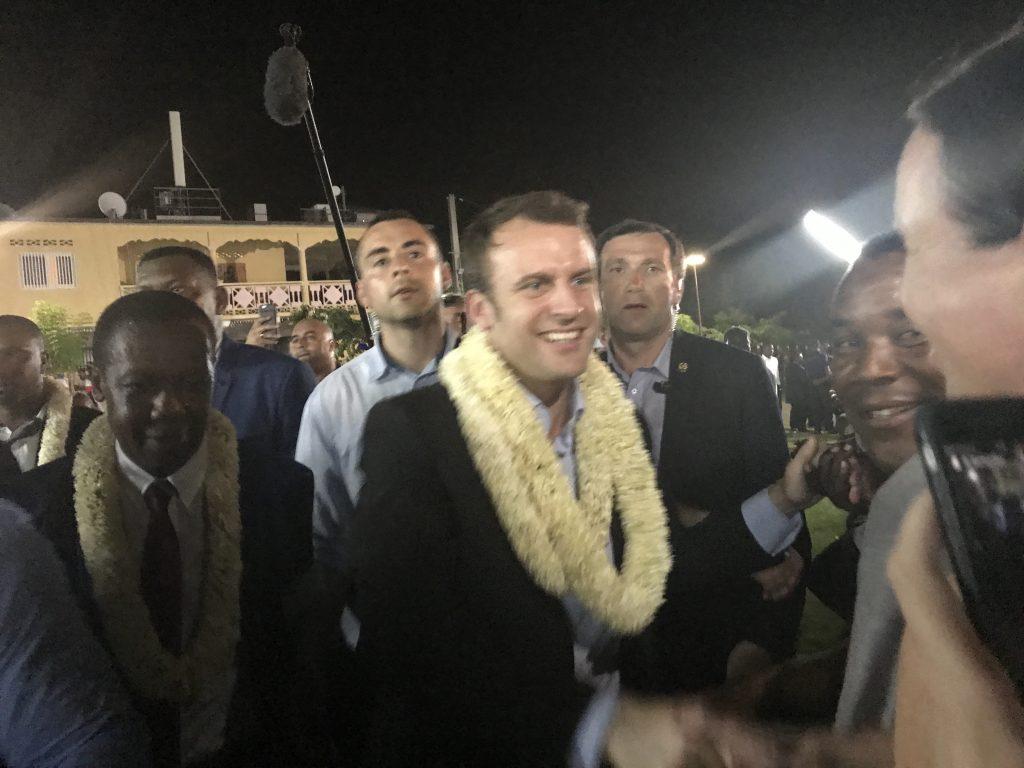 Emmanuel Macron, élu 8e Président de la République