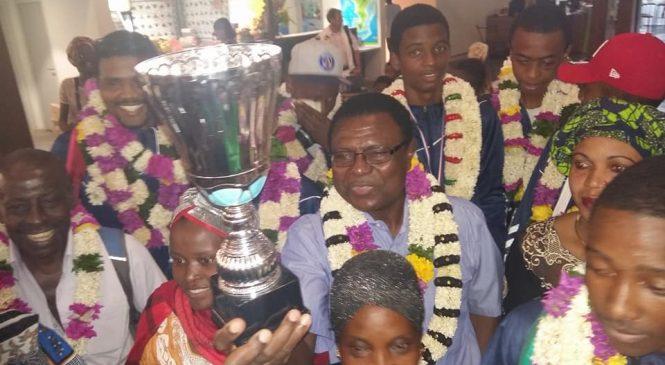 Le collège de Labattoir : Champion des DOM UNSS